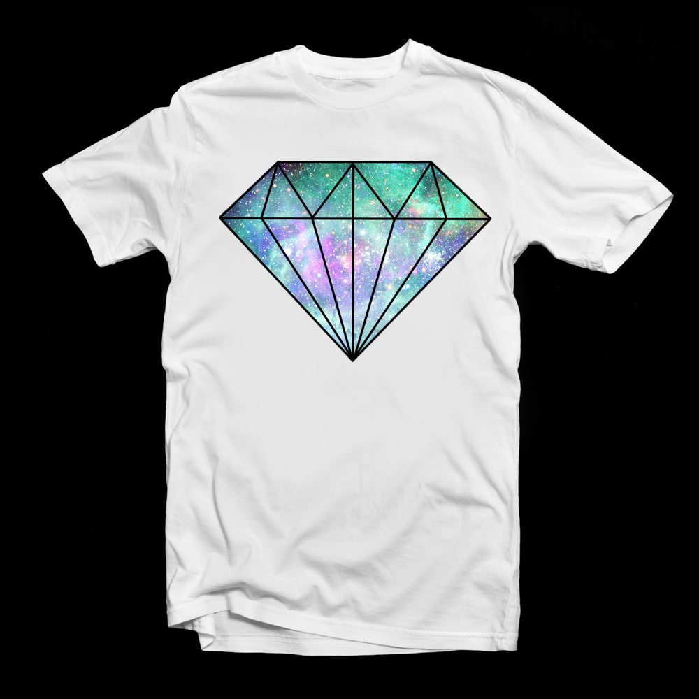 diamond cosmic tee