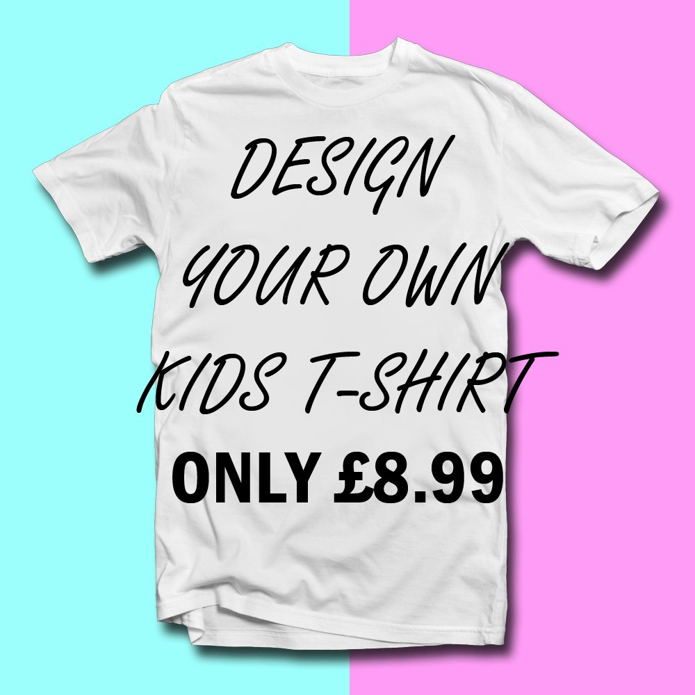 Design your own kids t shirt lulah blu for Create your own t shirt design