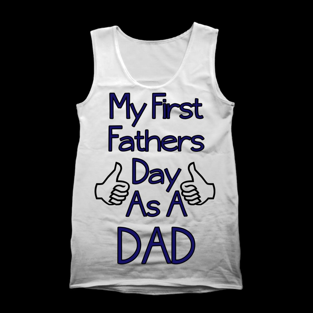 my first fathers day vest
