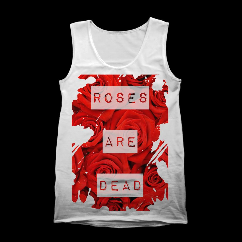 roses are dead vest