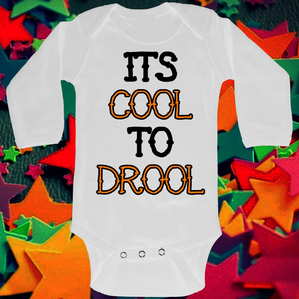 its cool to drool ls baby grow