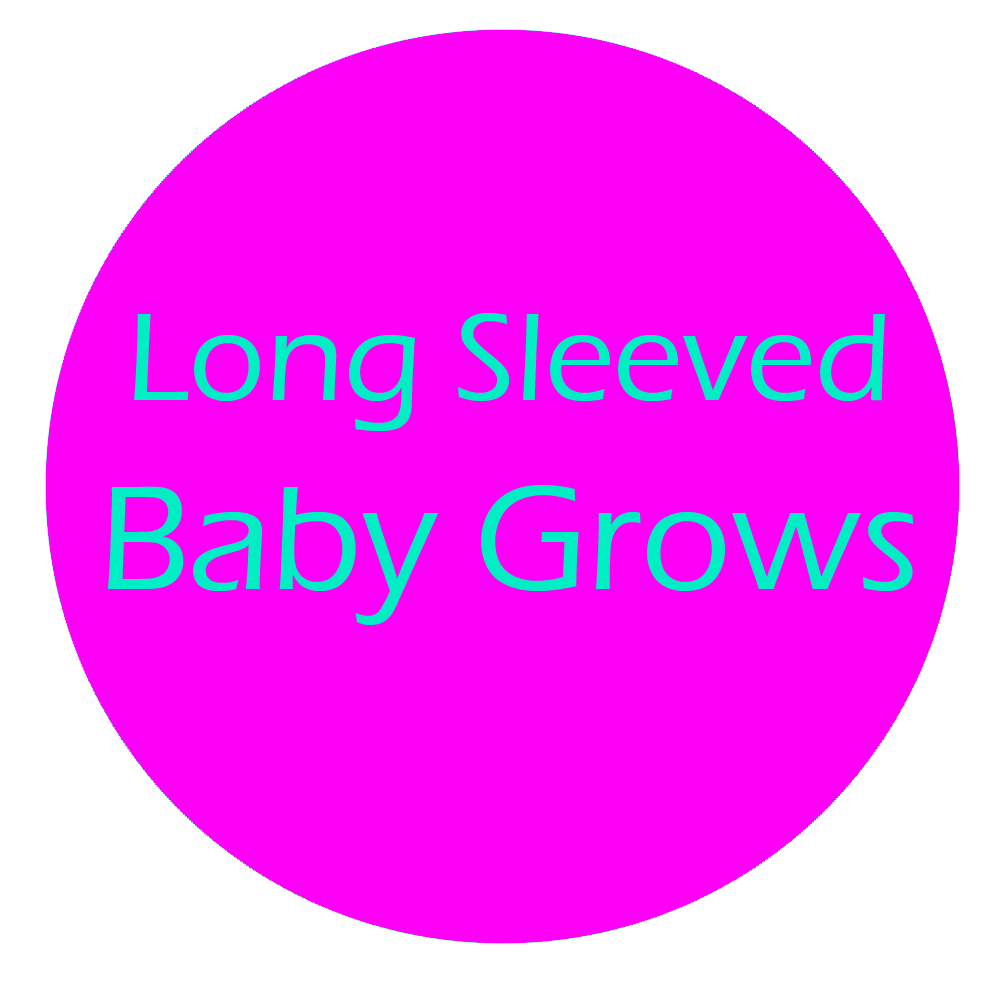 Long Sleeved Baby Grows