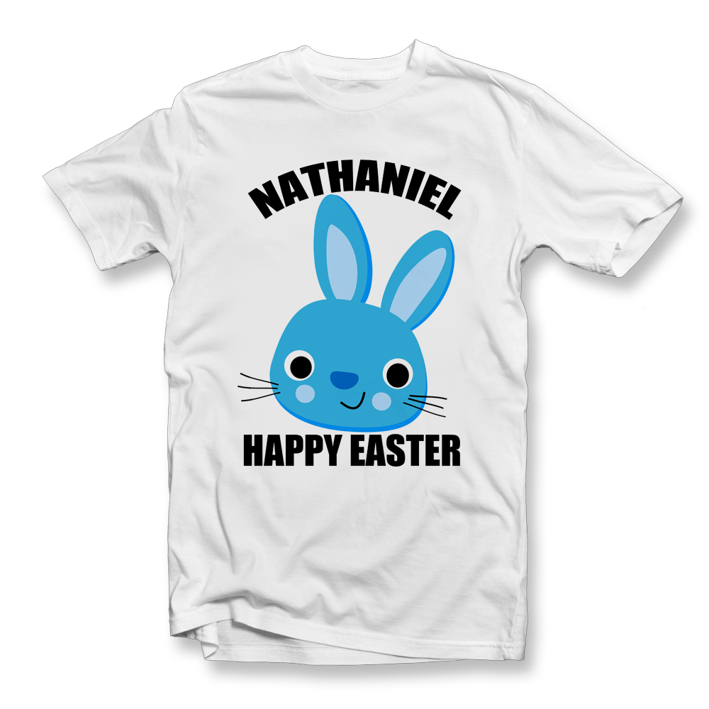 BOYS PERSONALISED EASTER T SHIRT