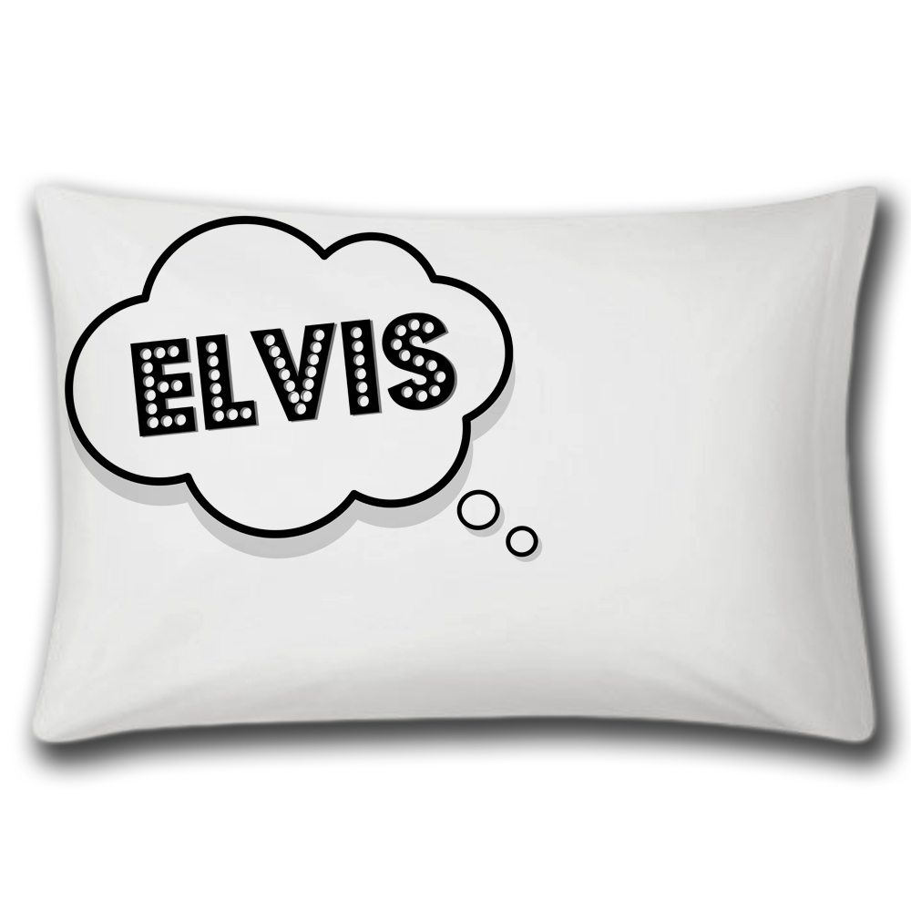 DREAMING OF ELVIS PILLOW