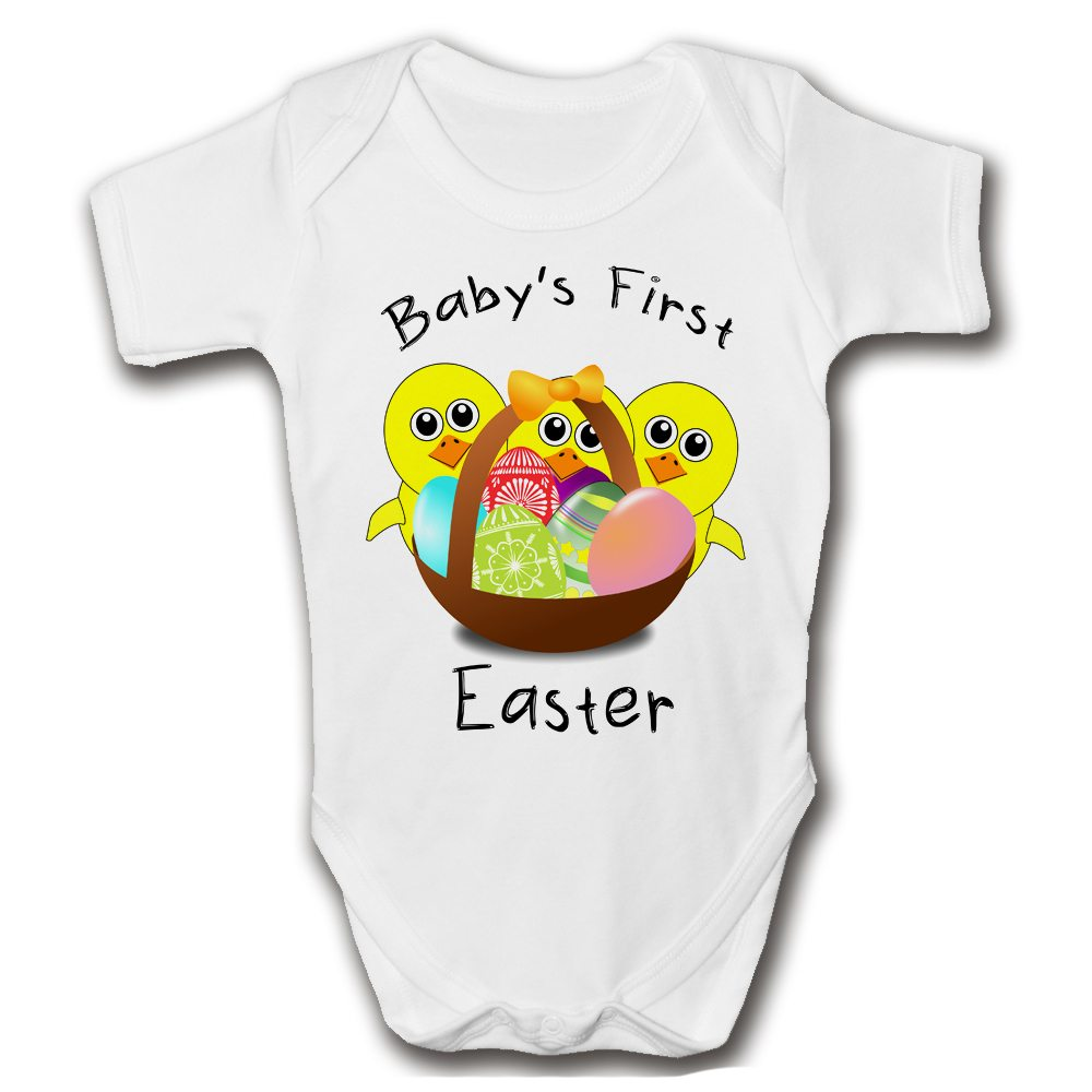 babys first easter baby grow