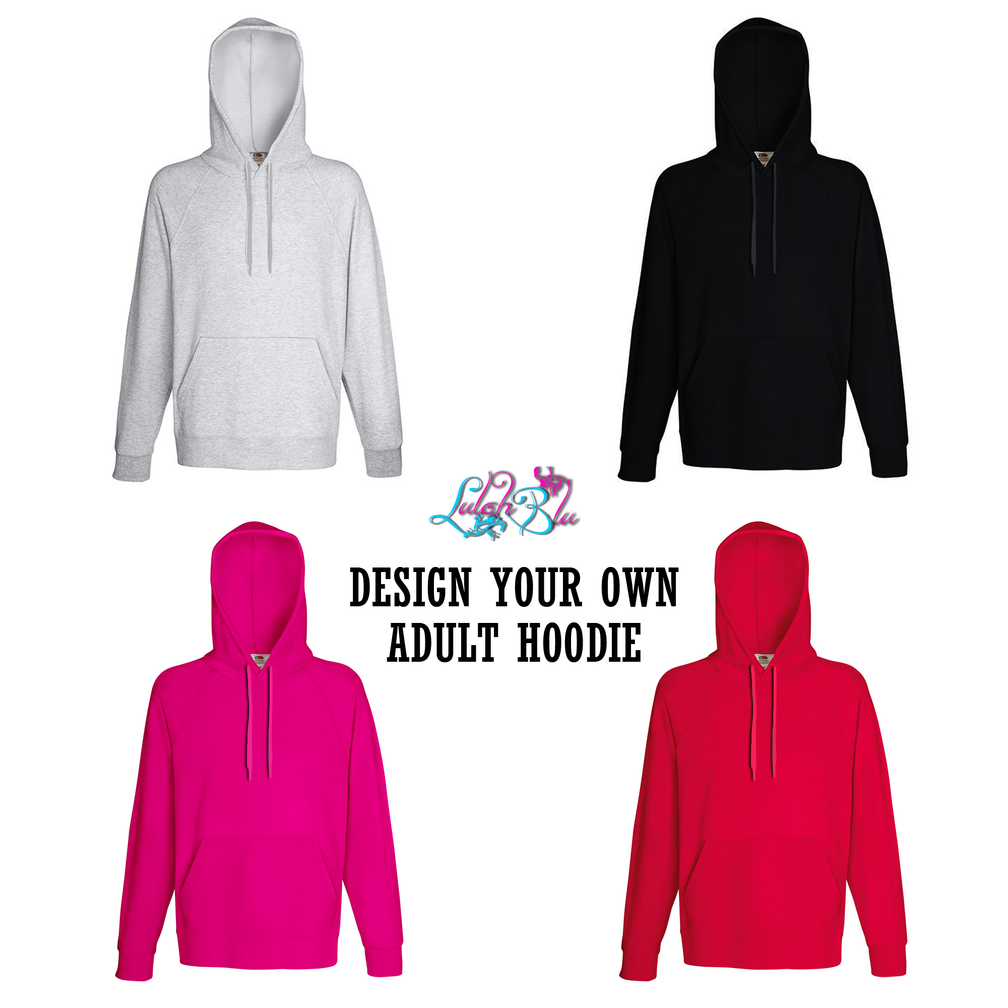 How To Design Your Own Hoodie At Home: Design Your Own Adult Hoodie