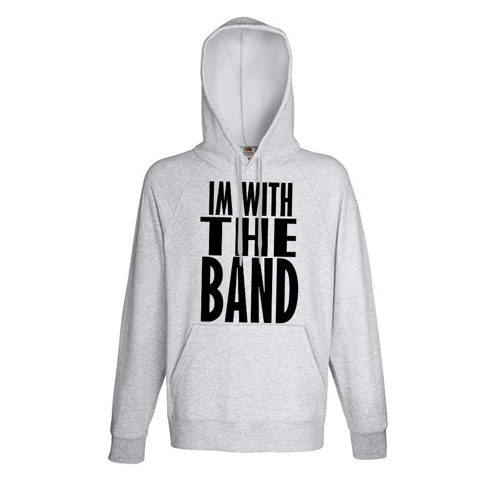 grey im with the band hoody