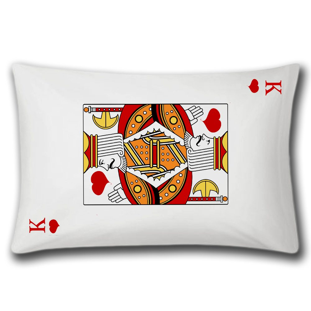 king of hearts pillow case