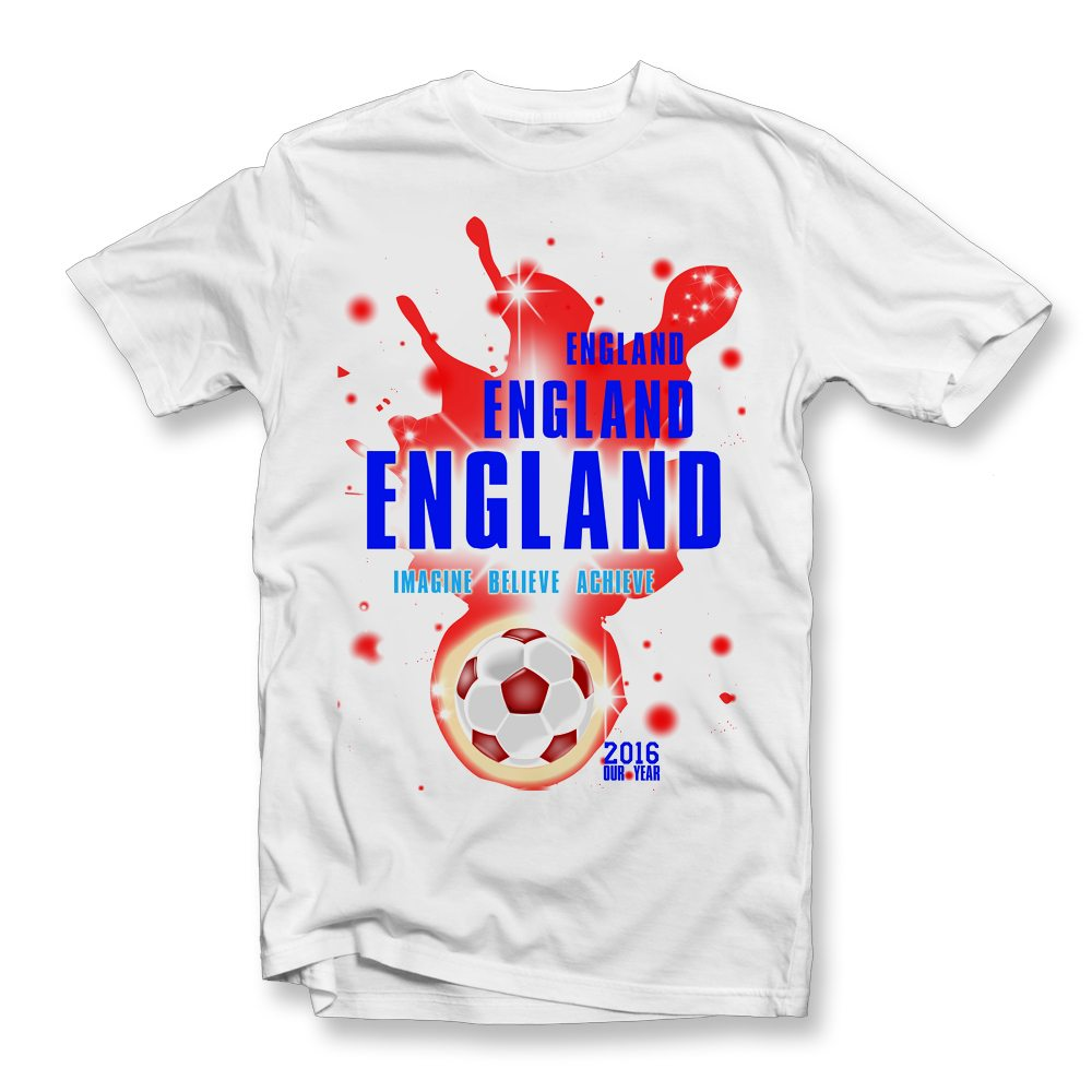 england imagine believe achieve t shirt