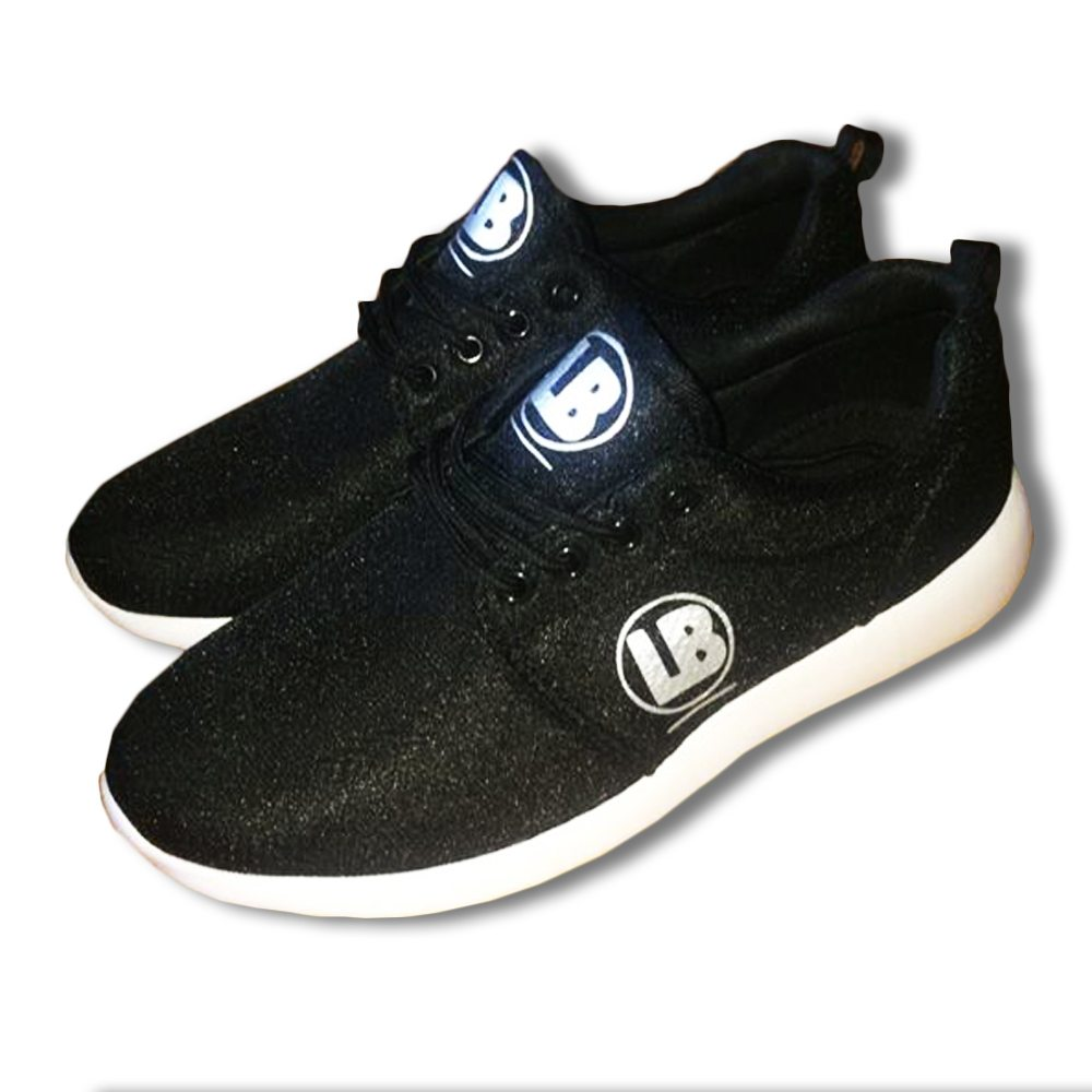 lb mesh black trainers 1