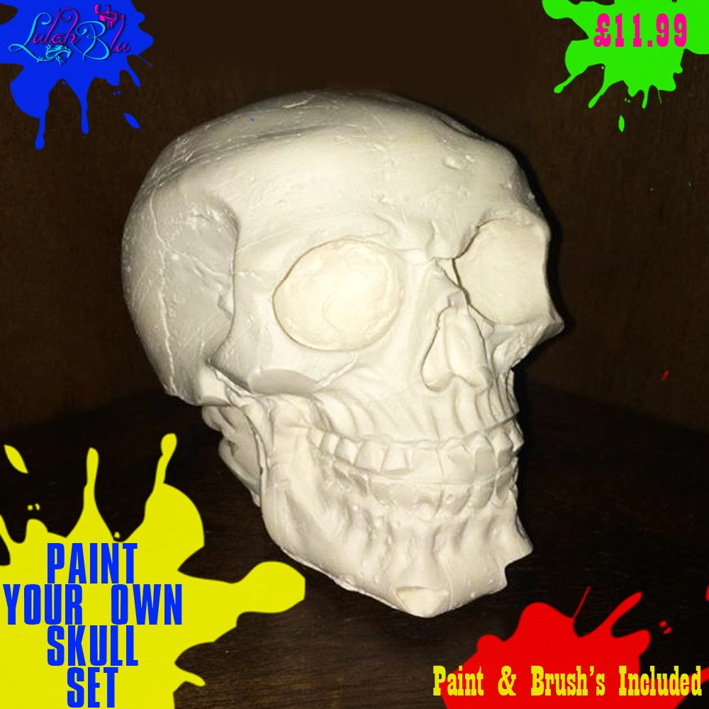 paint your own skull main