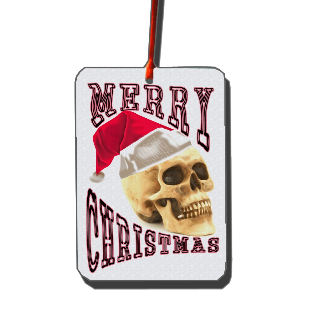 merry-christmas-skull-car-freshener