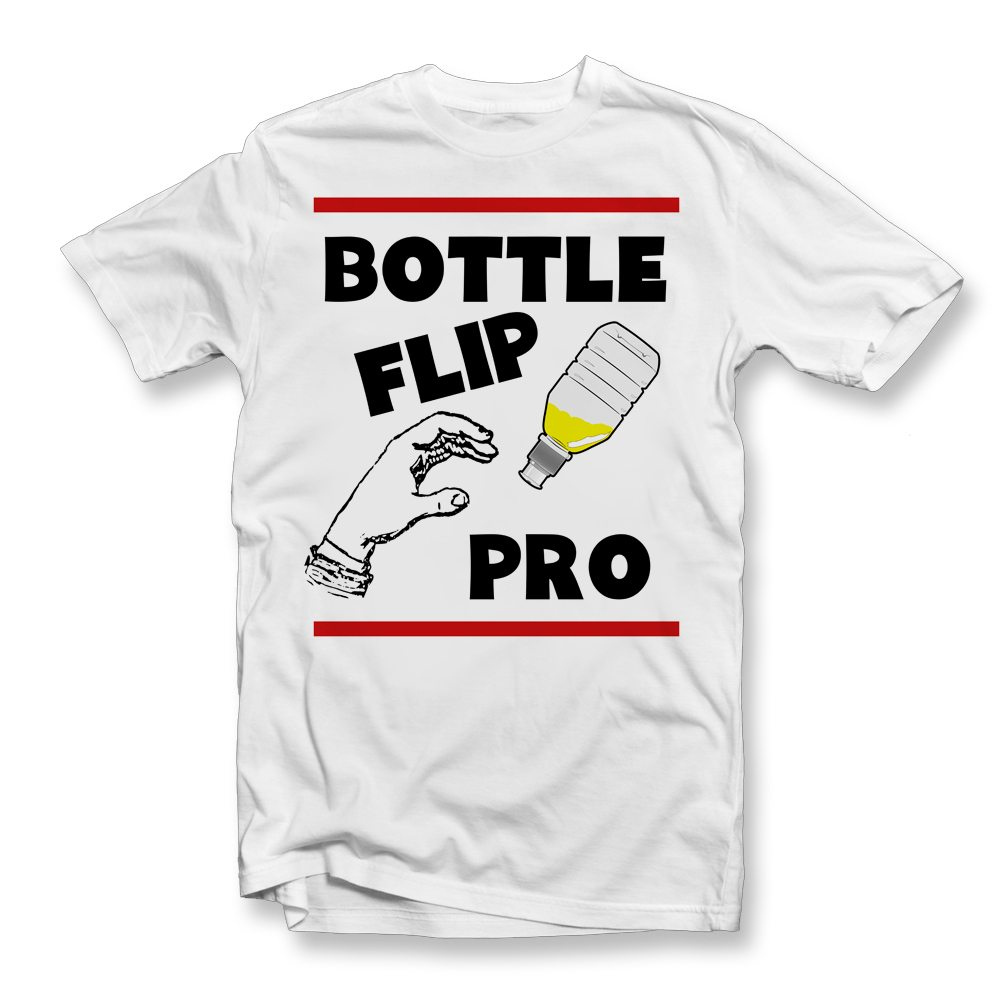 bottle flip pro kids t shirt