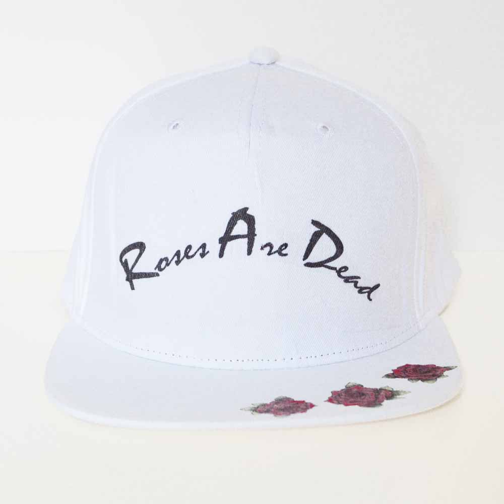 roses are dead snapback cap 1