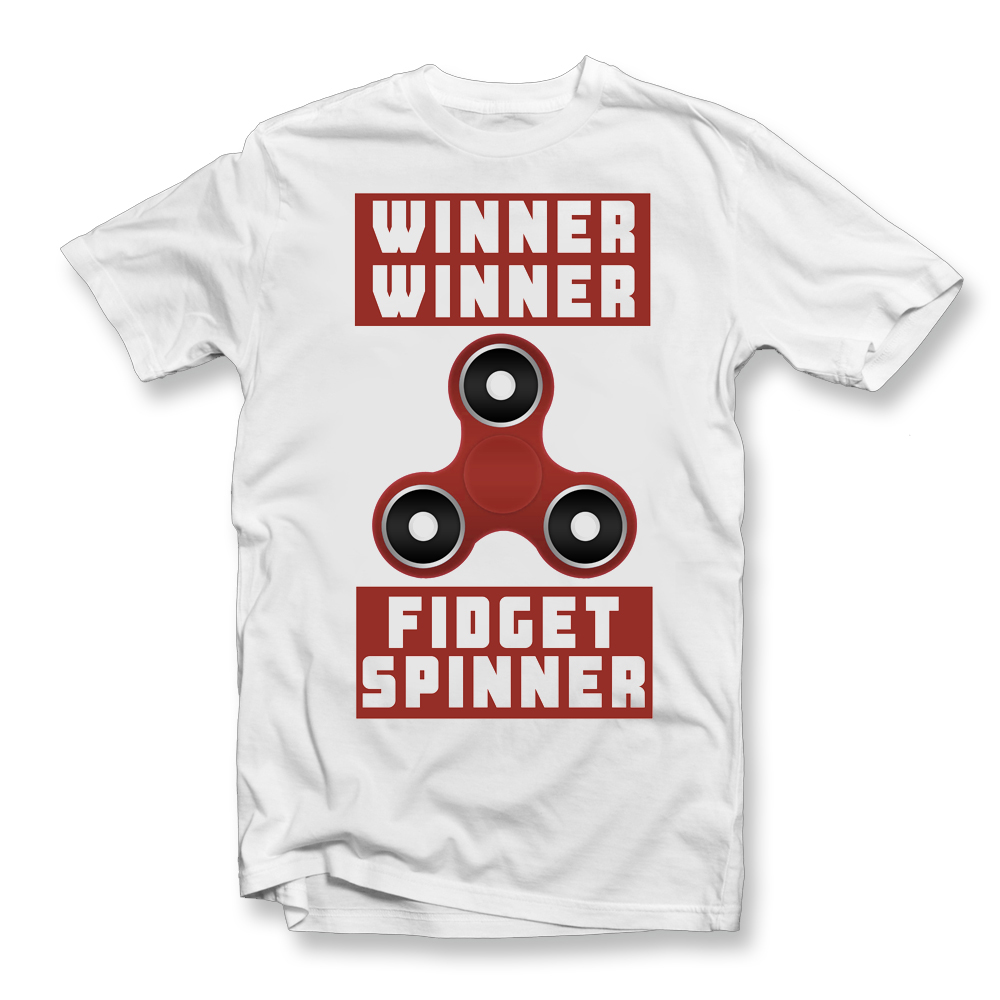 fidget spinner t shirt