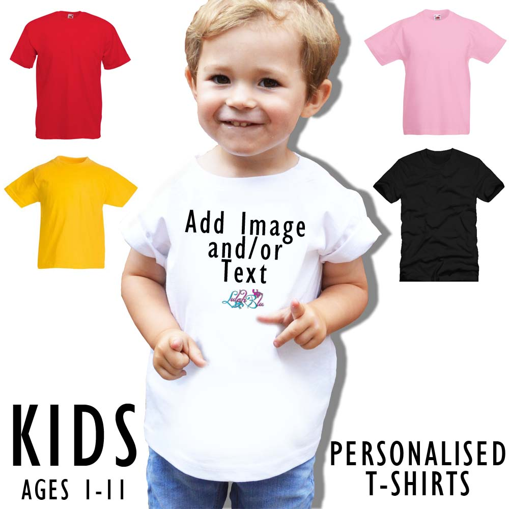Kids Personalised T-Shirts