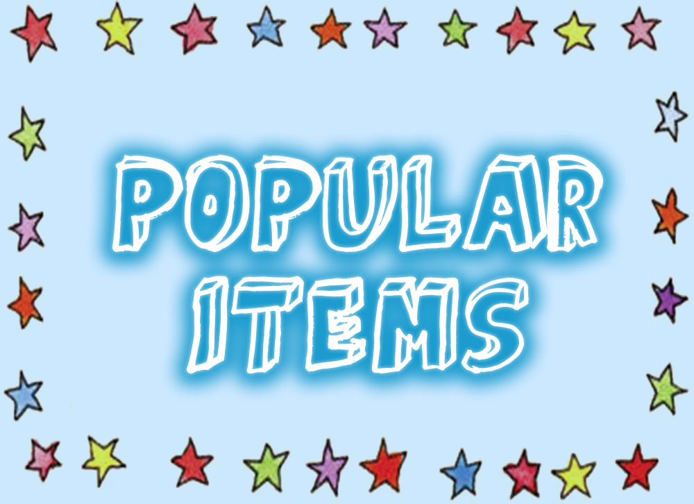 popular items