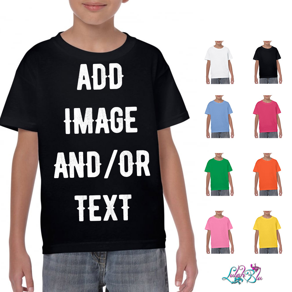 Kids Personalised T Shirts
