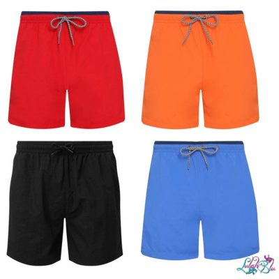 mens personalised swim shorts