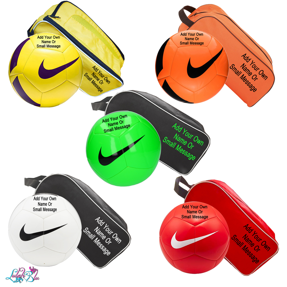 Personalised Football and Boot Bag